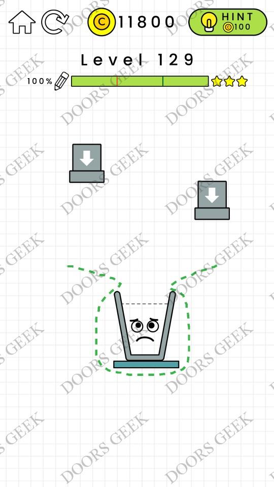 Happy Glass Level 129 Solution Doors Geek