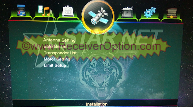 STAR NET Q999 1506G 8MB HD RECEIVER NEW SOFTWARE