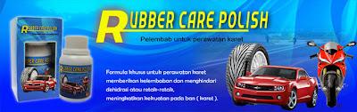 rubber care polish, membuat ban / karet lebih awet