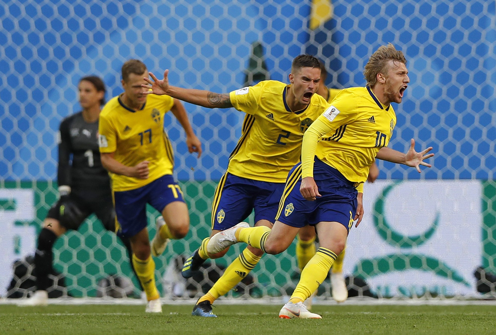 Emil Forsberg has been in fine form for the Swedish