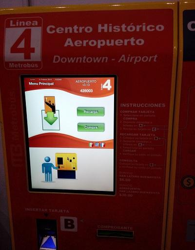 linea 4 metrobus centro historico aeropuerto benito juarez