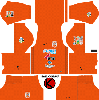 Borneo FC 2018 Kit - Dream League Soccer Kits