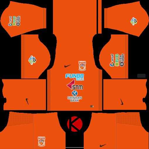 Borneo FC 2018 Kit - Dream League Soccer Kits