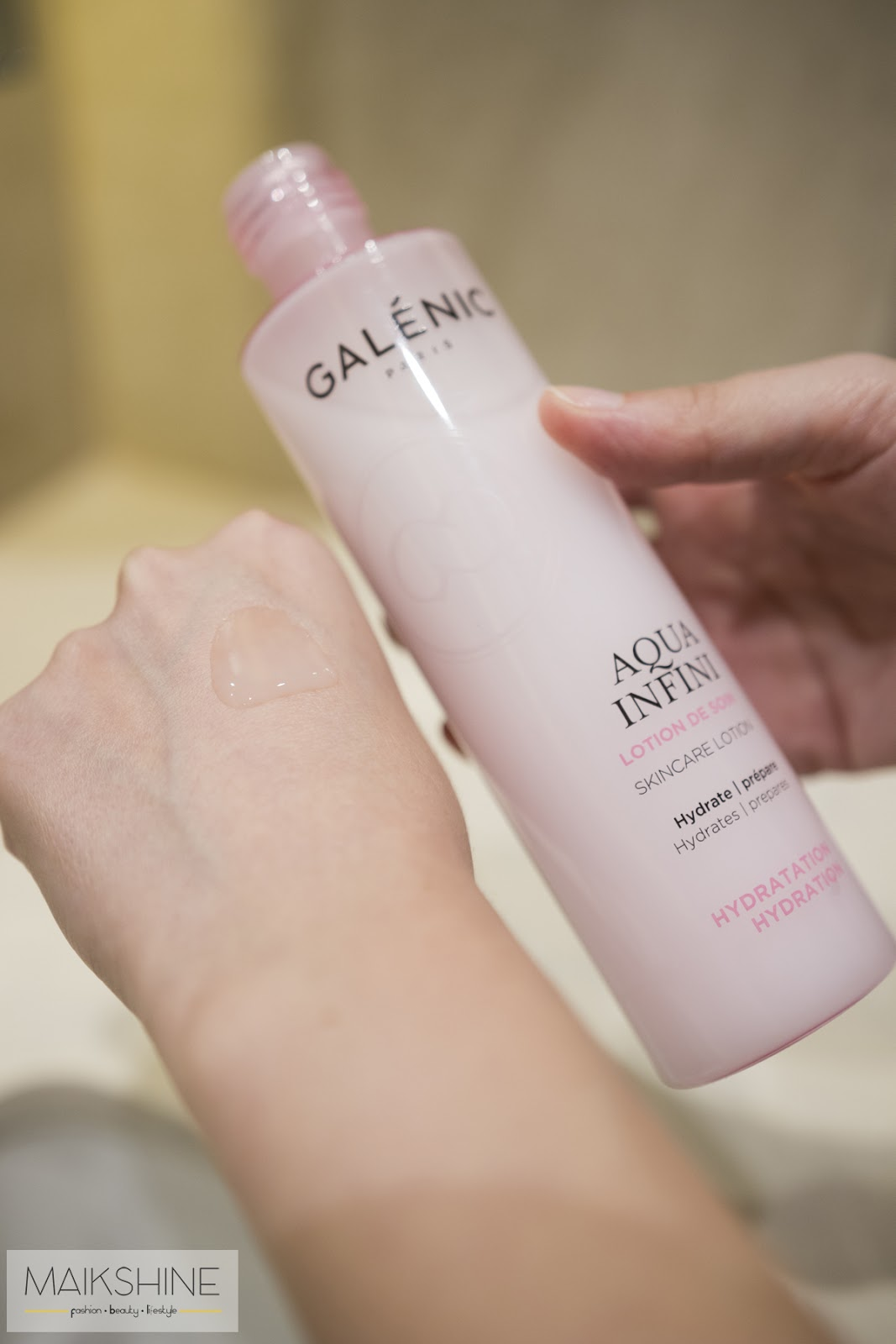 Review Aqua Infini Galenic