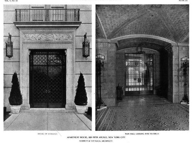Beyond the Gilded Age 820 Fifth Avenue – 820 Fifth Avenue Floor Plan