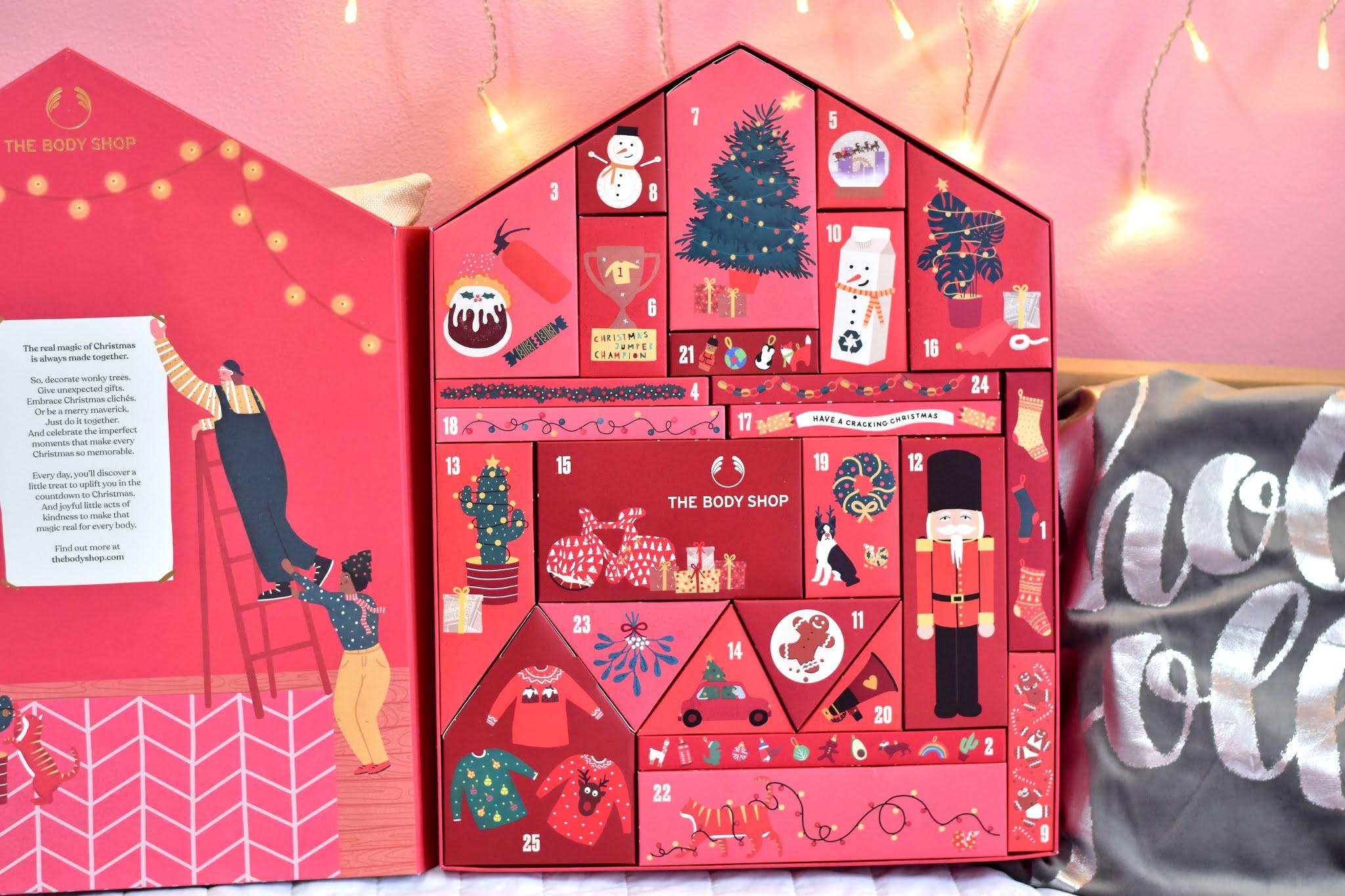 The Body Shop adventný kalendár