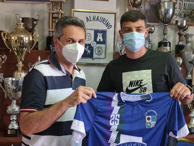 Fran Moreno, primer fichaje del CD Alhaurino para la temporada 21/22