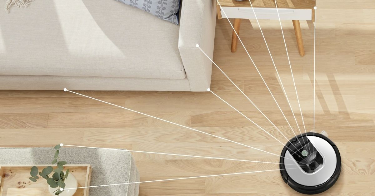 5.  Roomba robot vacuum - Moniedism