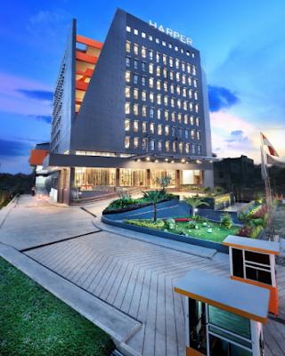 LOKER 3 POSISI HARPER HOTEL PALEMBANG JANUARI 2020