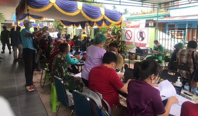 Demi Masa Depan Rakyat Papua, TNI Gencar Lakukan Vaksinasi