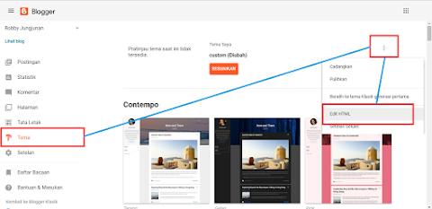 Cara Mengubah Warna Address Bar Blog Pada Browser