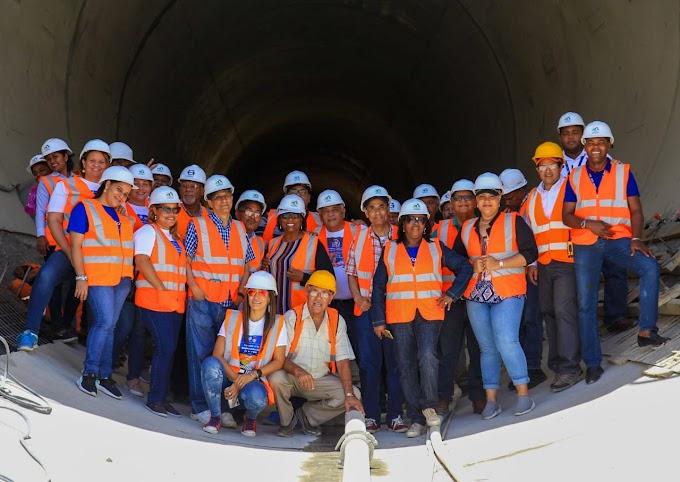 UCATEBA visita proyecto Presa Monte Grande; procura crear iniciativas que apoyen a la Región Enriquillo