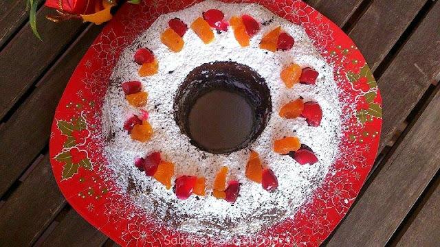 Torta negra. Postre navideño venezolano