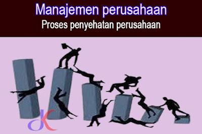 Manajemen perusahaan | Menyikapi perusahaan yang terpuruk