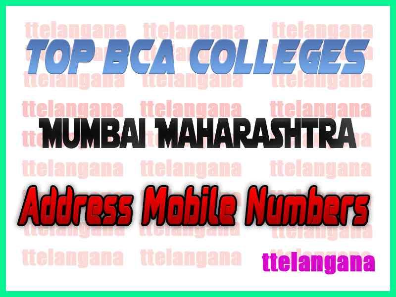 Top BCA Colleges in Mumbai Maharashtra