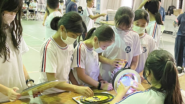 台中鎮平國小科學博覽會 大葉大手攜小手科學齊步走