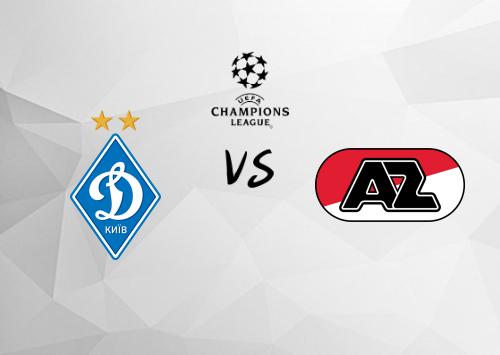 Dinamo Kiev vs AZ Alkmaar  Resumen