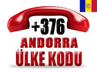 +376 Andorra ülke telefon kodu