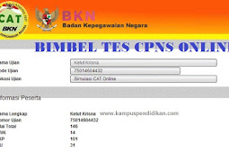 Bimbel Simulasi Tes CPNS Online 100% Lulus