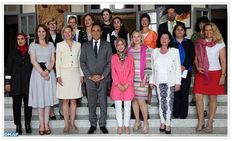 الرباط.. وفد من البرلمانيات والسياسيات الألمانيات يشيد بالإصلاحات التي يقودها جلالة الملك من أجل تعزيز مكانة المرأة المغربية