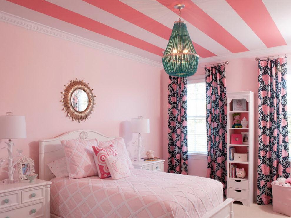 60 Desain Interior Kamar Tidur Warna Pink Untuk Perempuan