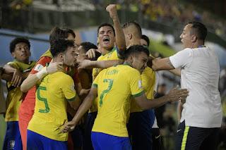 Brasil vence de virada historica e vai a  final do Mundial Sub-17