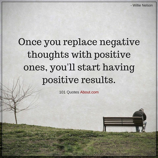 """Negative Thoughts Quotes"""