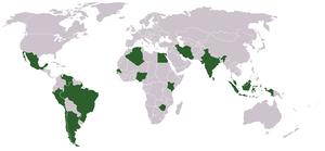 daftar negara peserta g15 indonesia