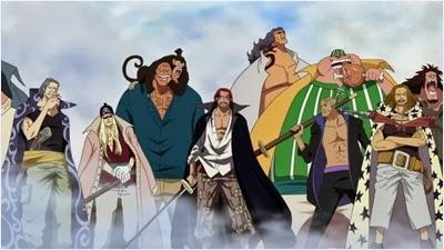 กลุ่มโจรสลัดผมแดง (Red Hair Pirates) @ One Piece
