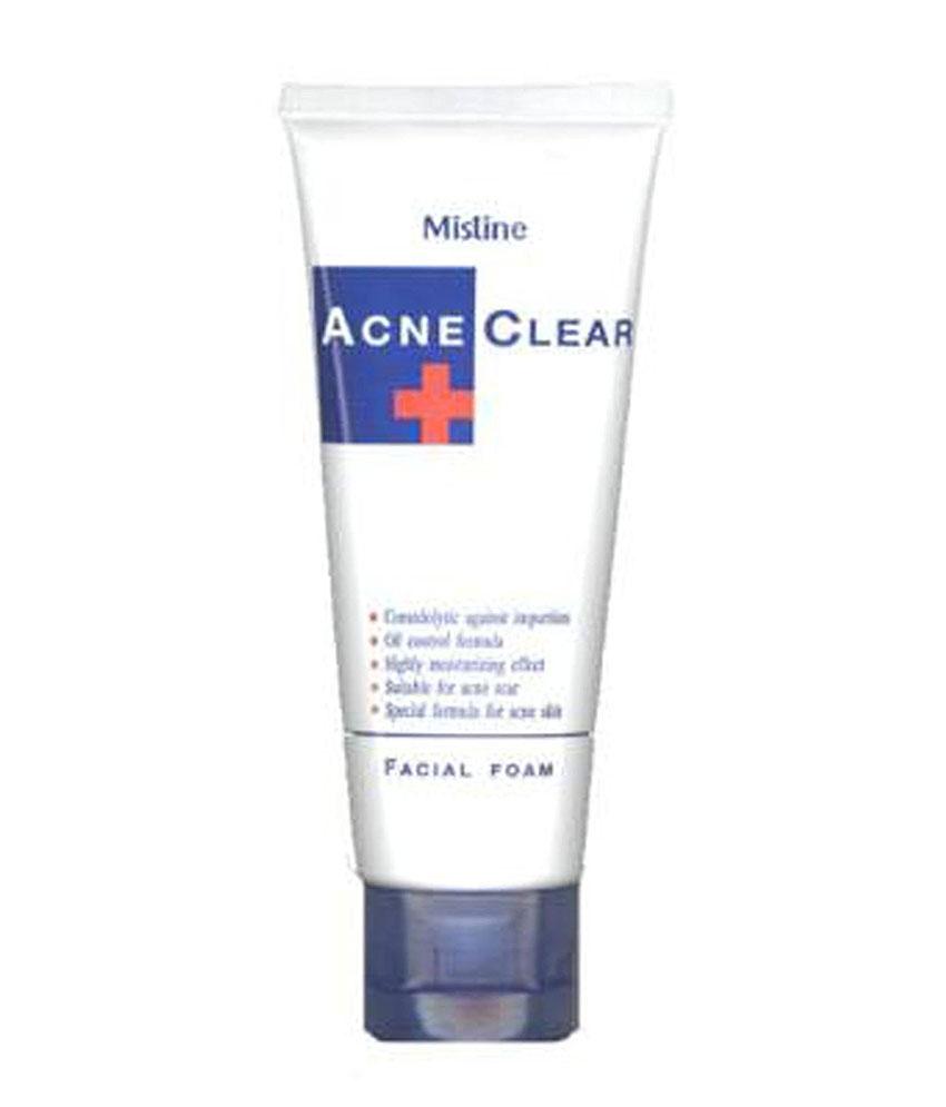 Mistine Acne Clear Face Wash 85 G