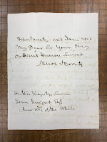 Second page of Nelson letter which includes his signature.