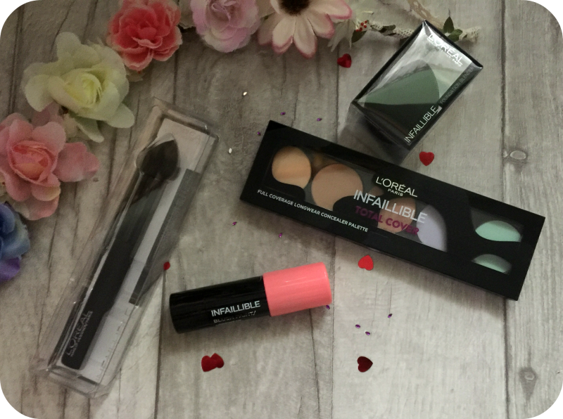 l'oreal infaillible total cover new products