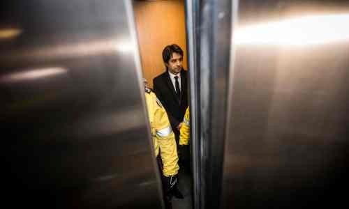 Jian Ghomeshi arrives at court, 08 january, 2015