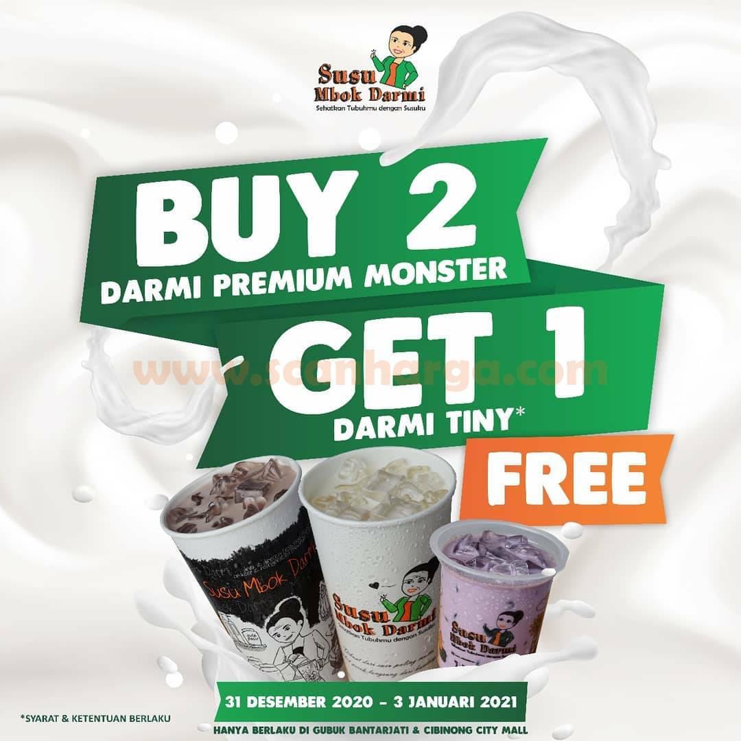Susu Mbok Darmi Promo Buy 2 Get 1 Free!