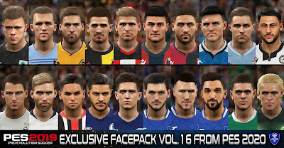 PES 2019 Exclusive Facepack Vol. 16 by Sofyan Andri