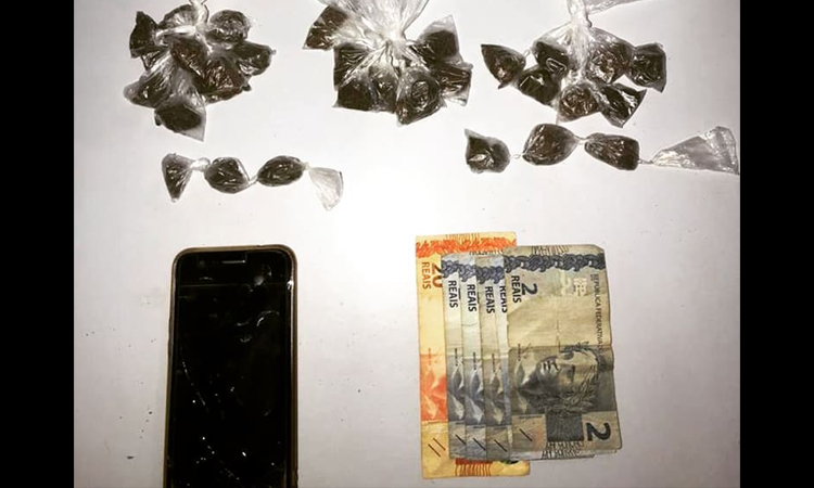 Homem é detido acusado de tráfico de drogas na Chapada Diamantina