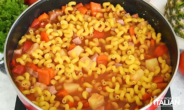 One-Pot Hawaiian Pasta