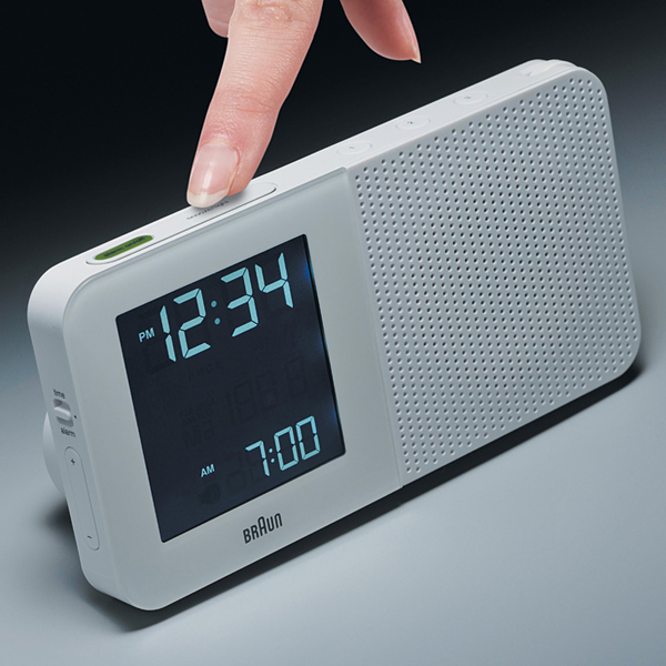BRAUN ブラウン Radio Clock BNC010  ラジオ 置き時計 目覚まし時計 ウォッチ WATCH ローゼンダール LED アラーム