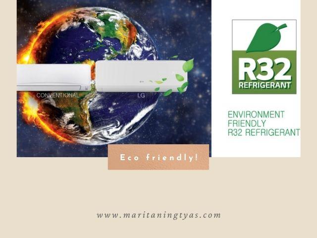 AC LG eco friendly