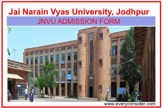jnvu online application Form