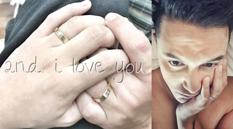 #LOVEWINS. Actor Paolo Ballesteros shares sweet photo with partner.
