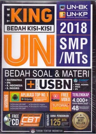 Buku Soal Ujian Nasional UN SMP 2017 2018 2019 2020