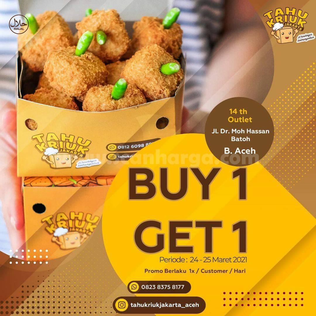 Promo TAHU KRIUK Banda Aceh Beli 1 Gratis 1