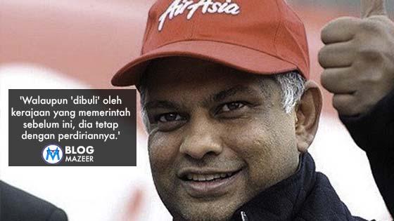 'Jangan Label Tony Fernandes Sebagai Pengkhianat' - Syed Saddiq