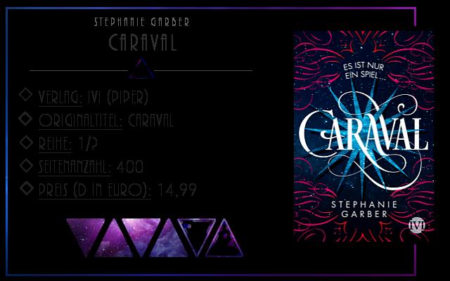 [Rezension] Caraval - Stepahnie Garber