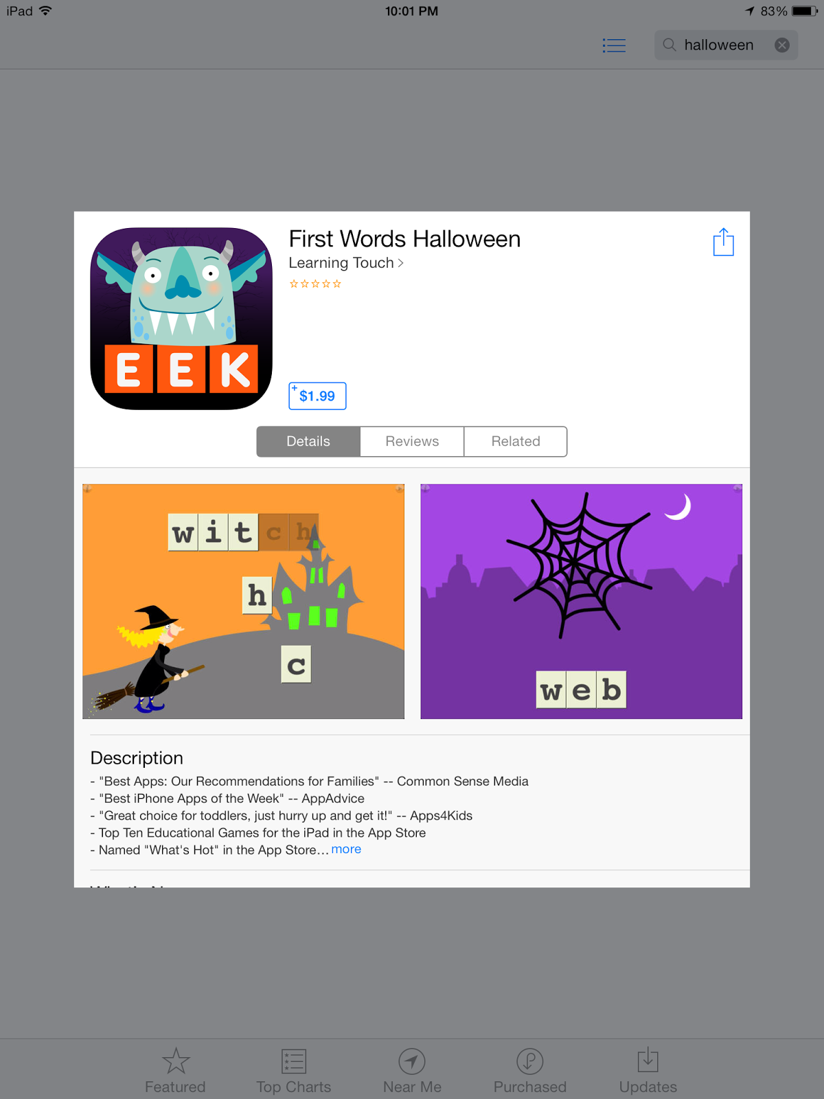 Halloween Websites & Apps