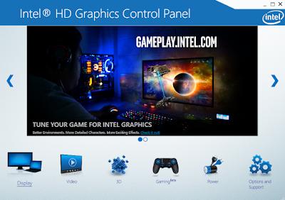 HD Graphics Control Panel