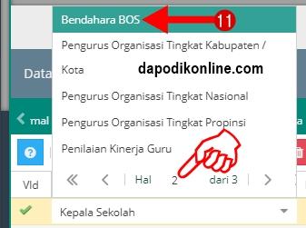 klik Bendahara BOS