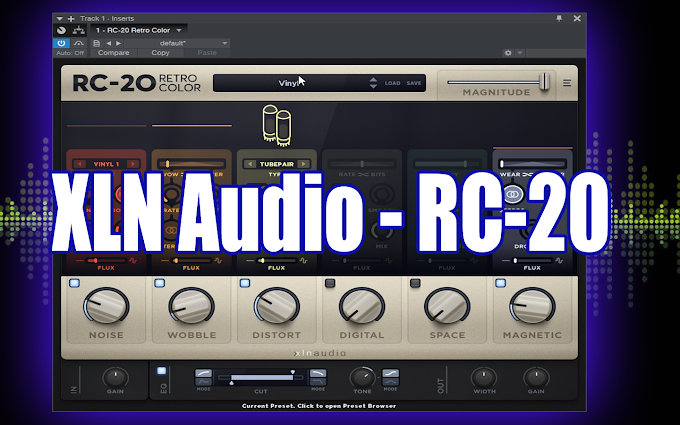 RC-20 Retro Color 1.1.1.2 BY XLN Audio VST, AAX x86 x64