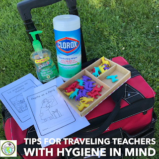 Tips for Traveling Teachers with Hygiene in Mind